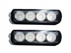 2 LED FLASH SMD LED 12 WATT 18 FONCTIONS
