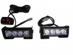 2 LED FLASH SMD LED 8 WATT